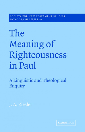 Meaning Of Righteousness In Paul