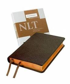 NLT Pitt Minion Reference Bible: Brown Moroccan Leather