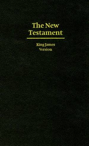 KJV Giant Print New Testament: Hardback