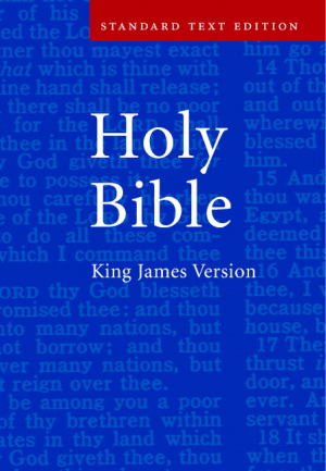 KJV Bible: Hardback, Anglicised