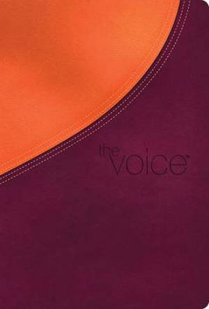 Voice The Bible Burg Orange Lthlk