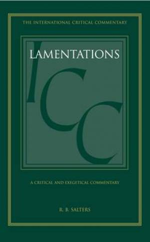 Lamentations : International Critical Commentary