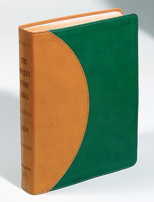NRSV Wesley Study Bible: Green/Tan, Imitation Leather