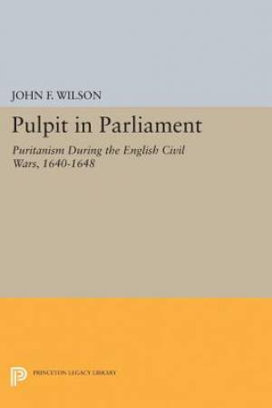Pulpit in Parliament