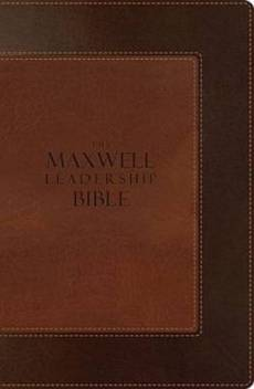 NIV Maxwell Leadership Bible: Imitation Leather, Brown/Light Brown