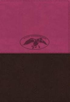 NKJV, Duck Commander Faith and Family Bible, Imitation Leather, Pink/Brown