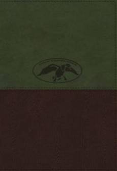 NKJV, Duck Commander Faith and Family Bible, Imitation Leather, Green/Brown