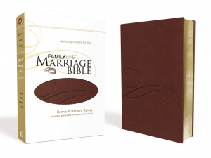 NKJV Family Life Marriage Bible: Burgundy, LeatherSoft