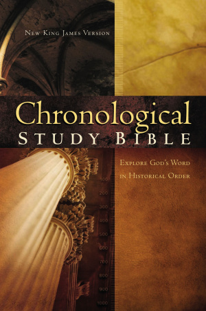 NKJV Chronological Study Bible: Hardback