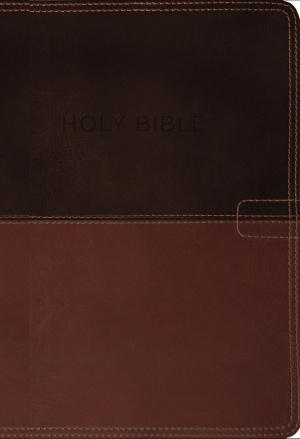 NKJV, Know The Word Study Bible, Imitation Leather, Brown/Caramel, Red Letter Edition
