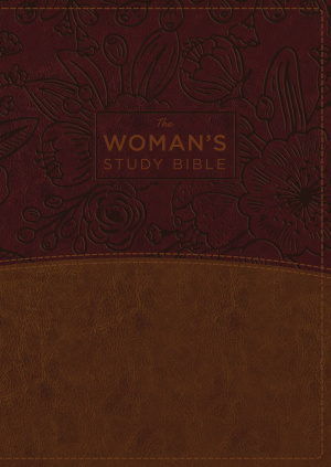 The Nkjv, Woman's Study Bible, Imitation Leather, Brown/Burgundy, Full-Color