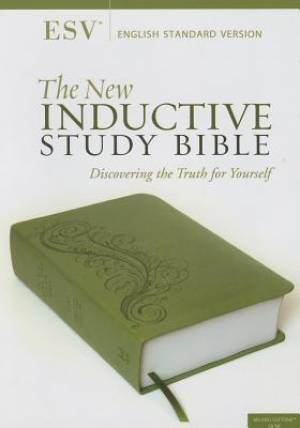 ESV New Inductive Study Bible Green Imitation Leather