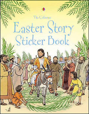 Easter Story Sticker Book Pb