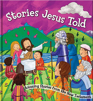 Square Cased Bible Story Book - Stories Jesus Told