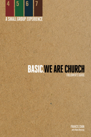 Basic. We Are Church - Followers Guide (paperback)
