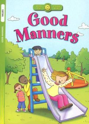 Good Manners : Coloring Book