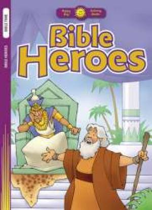 Bible Heroes Colouring Book
