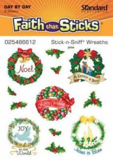 Stick-n-sniff® Wreaths Stickers