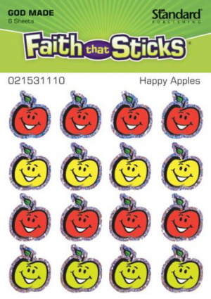 Sticker Happy Apples