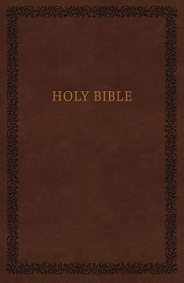 KJV, Holy Bible, Soft Touch Edition, Leathersoft, Brown, Comfort Print