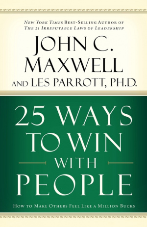 25 Ways To Win With People Paperback Book