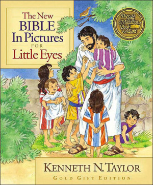 New Bible in Pictures for Little Eyes: Gold Gift Edition