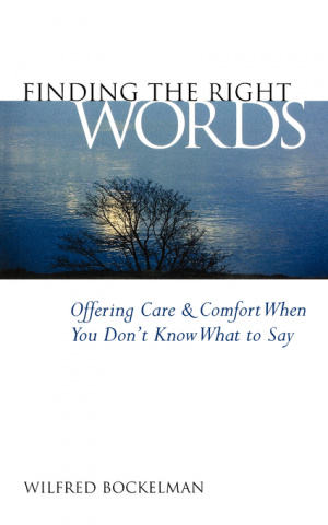 FINDING THE RIGHT WORDS