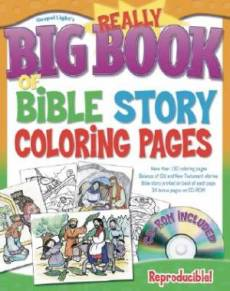 Really Big Book Of Bible Colouring Pages
