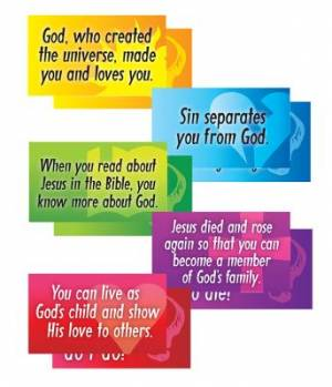 VBS2015 Big Q&A Signs Pack of 5
