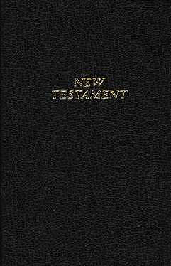 KJV Pocket New Testament: Black