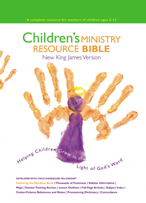 NKJV Children's Ministry Resource Bible: Hardback