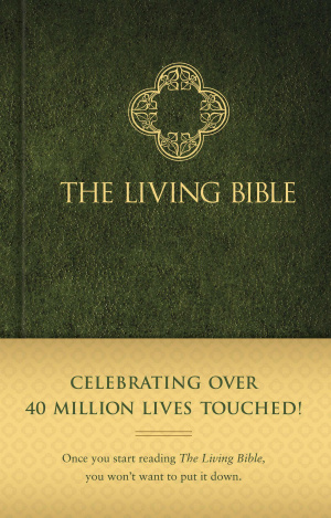 Living Bible: Green, Hardback