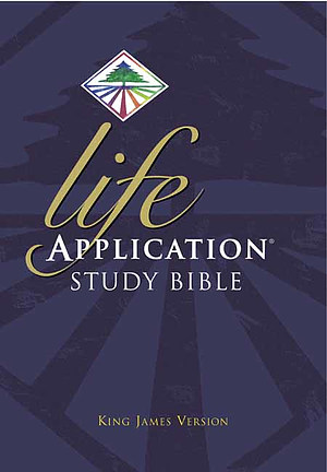KJV Life Application Study Bible: Hardback, Large Print