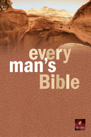 NLT Every Mans Bible Hardback