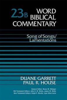 Song of Songs & Lamentations: Volume 23b