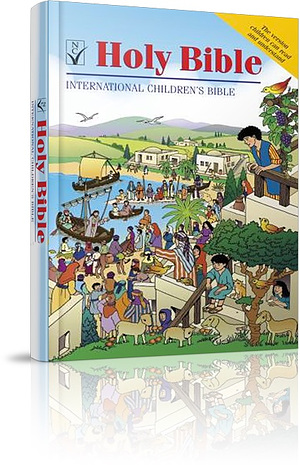 International Children's Bible (ICB): Hardback, Illustrated, Anglicised Edition
