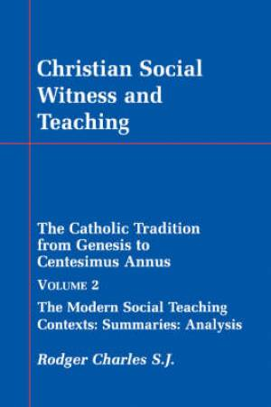 Christian Social Witness and Teaching