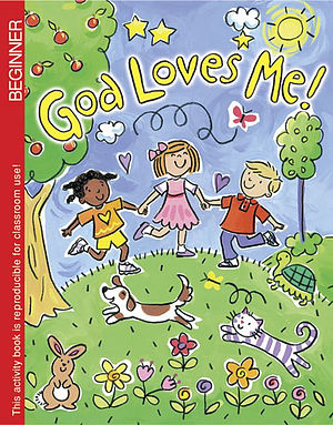 God Loves Me Colouring Book