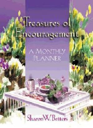 Treasures Of Encouragement Monthly Plann