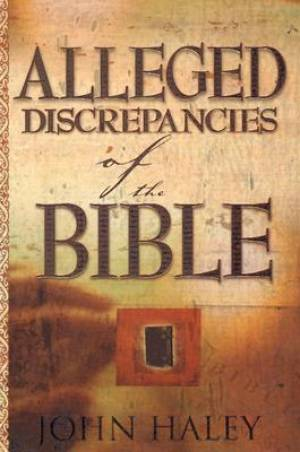 Alleged Discrepancies Of The Bible Pb