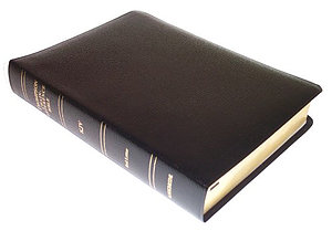 KJV Thompson Chain Reference Study Bible: Black, Bonded Leather