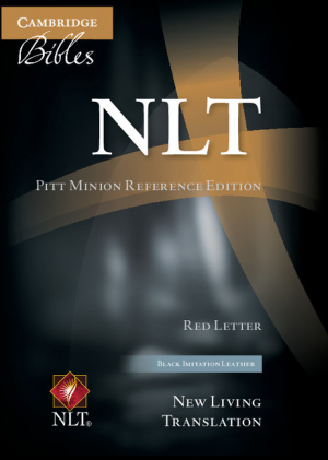 NLT Pitt Minion Reference Bible, Red Letter, Black Imitation Leather NL442: XR