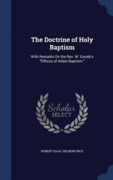 The Doctrine of Holy Baptism
