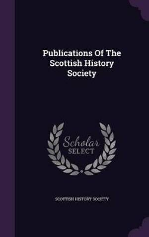 Publications of the Scottish History Society