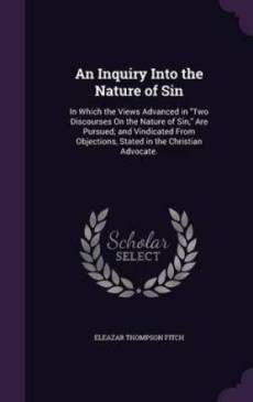 An Inquiry Into the Nature of Sin