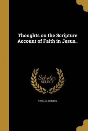 Thoughts on the Scripture Account of Faith in Jesus..