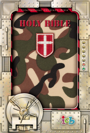 ICB Compact Kids Bible: Green Camo