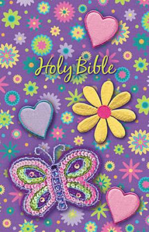 NKJV Sequin Bible Purple