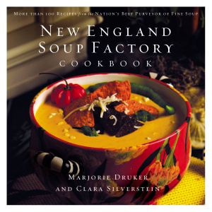 New England Soup Factory Cookbook Hb