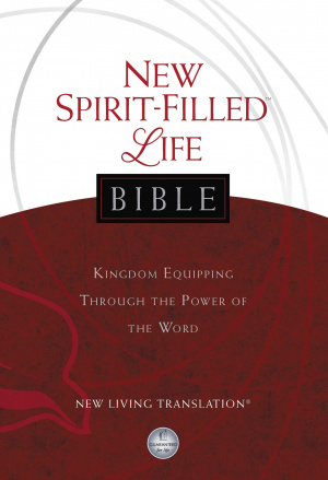 NLT New Spiritfilled Life Study Bible Hardback